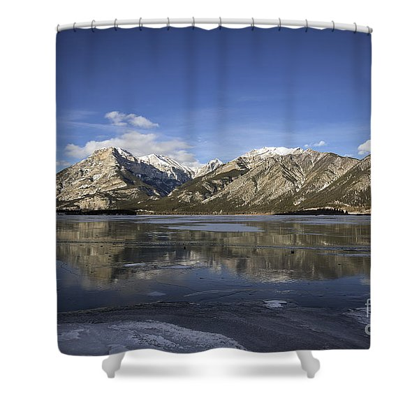 Serenity's Shrine Shower Curtain
