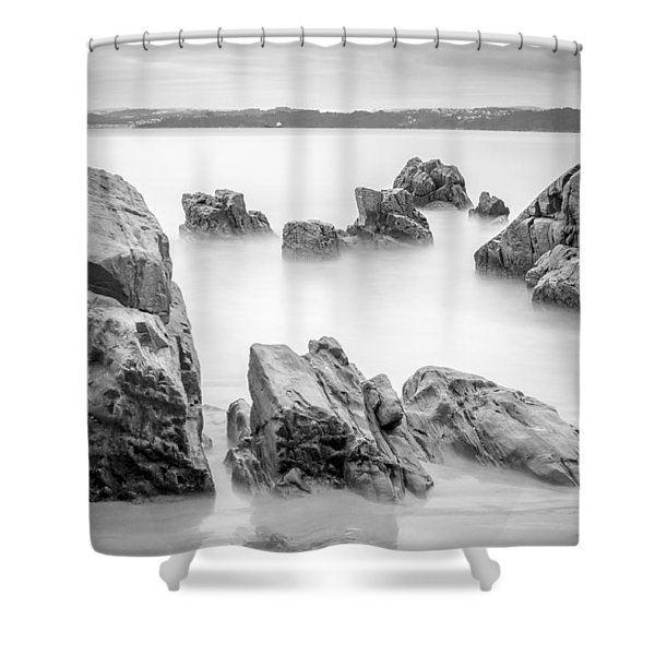 Seselle Beach Galicia Spain Shower Curtain