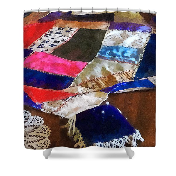 Sewing - Making A Quilt Shower Curtain
