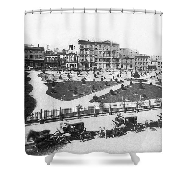 Sf Portsmouth Square Shower Curtain