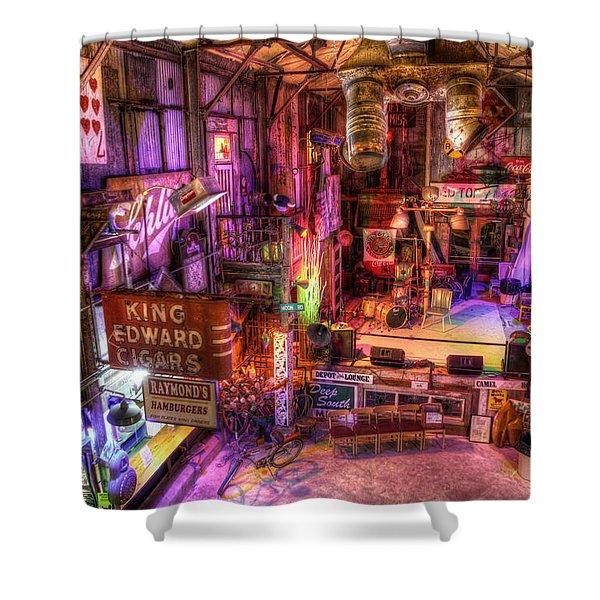 Shackup Inn Stage Shower Curtain
