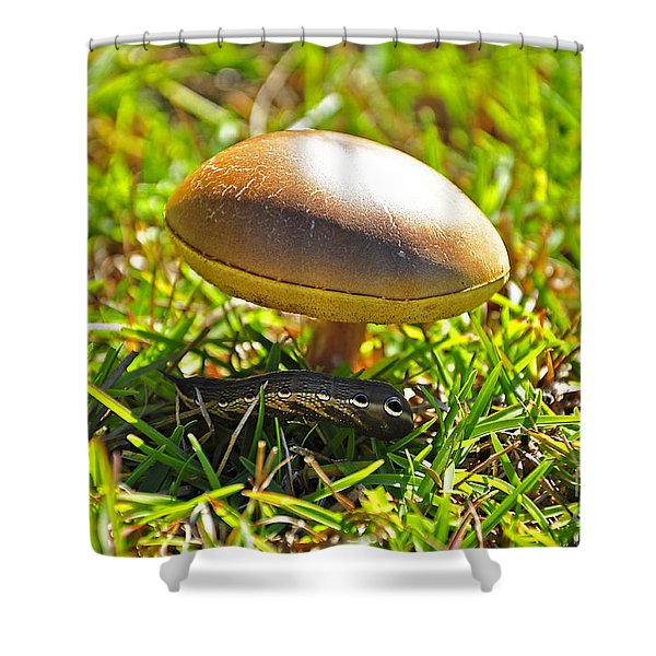 Shade Of The Shroom Shower Curtain