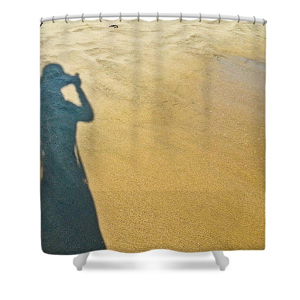 Shadow And Sand Raw Shower Curtain