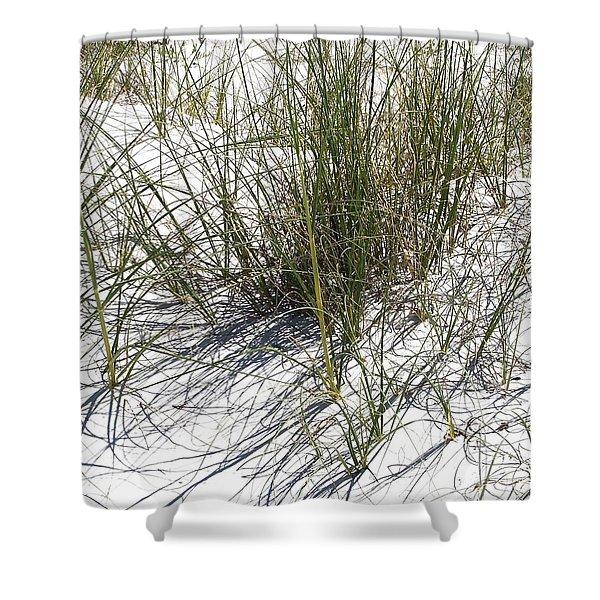 Shadow Grass Shower Curtain