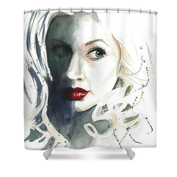 Shadows Of The Past Shower Curtain