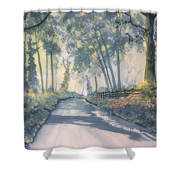 Shadows On The Setterington Road Shower Curtain