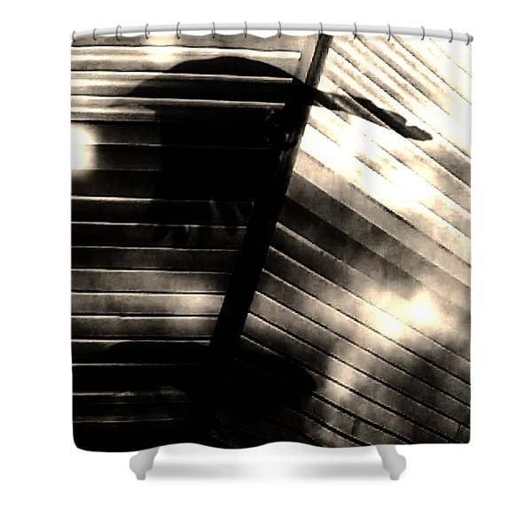 Shadows Symphony  Shower Curtain
