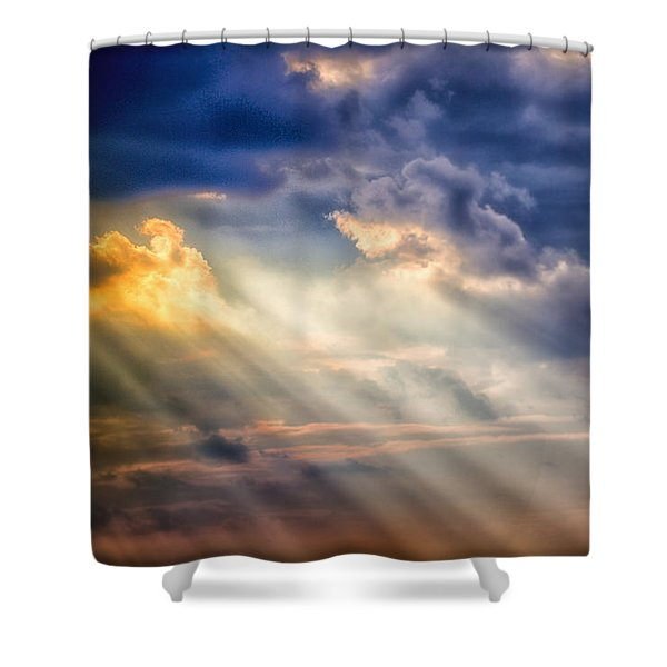 Shaft Of Light Shower Curtain