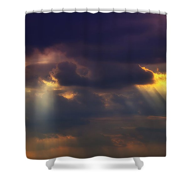 Shafts Of Sunlight Shower Curtain