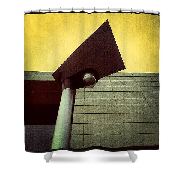 Shapely Light Shower Curtain