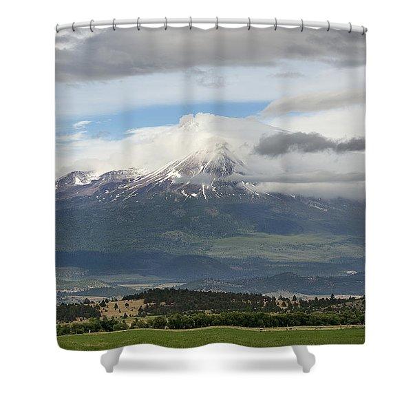 Shasta W Clouds Shower Curtain