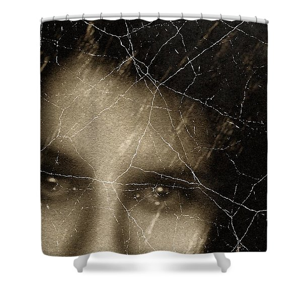 She Died Before Your Eyes Shower Curtain