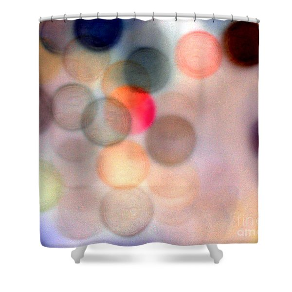 She Lights Up The Room Shower Curtain