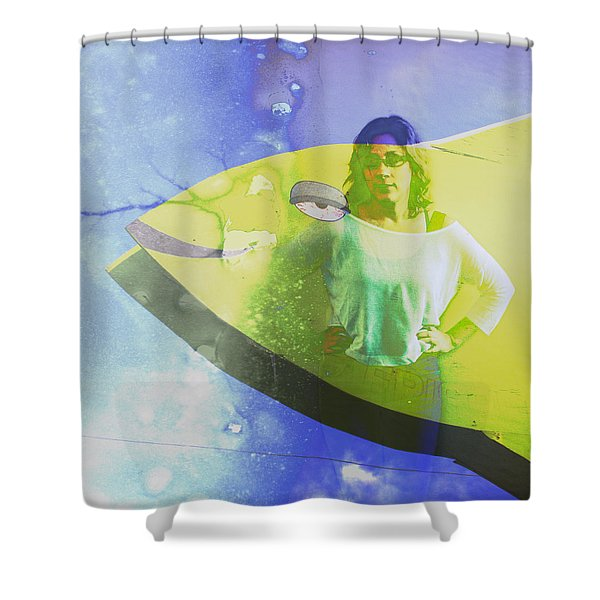 Sheebang Shower Curtain