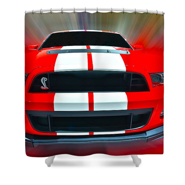 Shelby Gt 500  2013 Shower Curtain