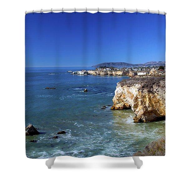 Shell Beach California Shower Curtain