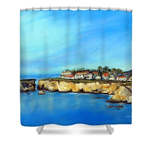 Shell Beach California Shower Curtain
