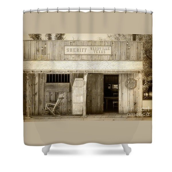 Sheriff Office Shower Curtain
