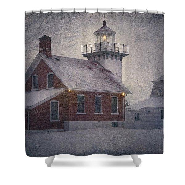 Sherwood Point Light Shower Curtain