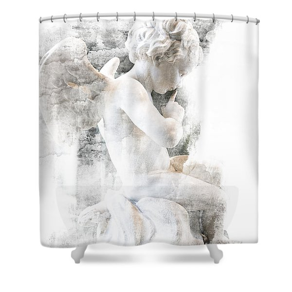 Shhhhh Shower Curtain