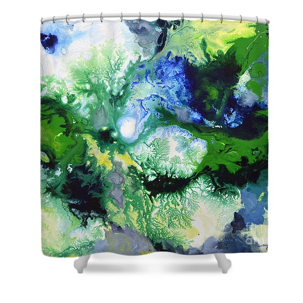 Shift To Grey Shower Curtain