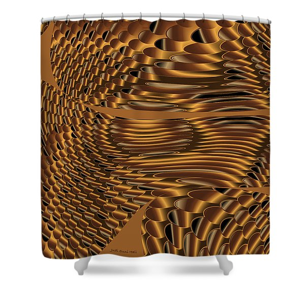 Shifting Shoals Shower Curtain