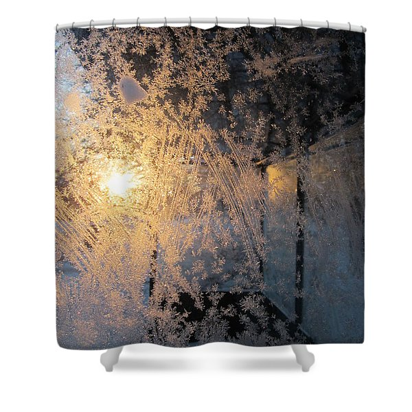 Shines Through And Illuminates The Day Shower Curtain