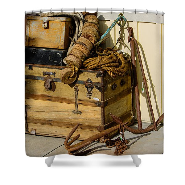 Shipping Out Shower Curtain