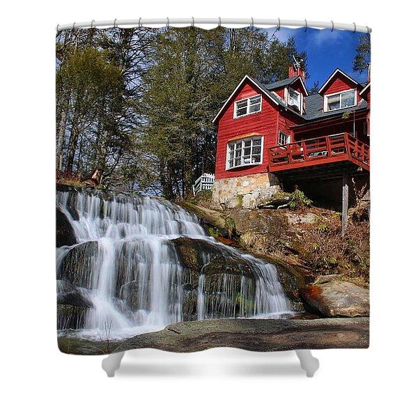 Shoal Creek Falls  Shower Curtain