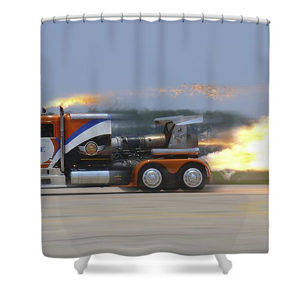 Shockwave Shower Curtain