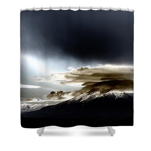 Shrouded Oquirrh Shower Curtain