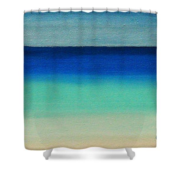 Shutter Me Sea Shower Curtain
