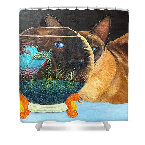 Siam I Am Shower Curtain