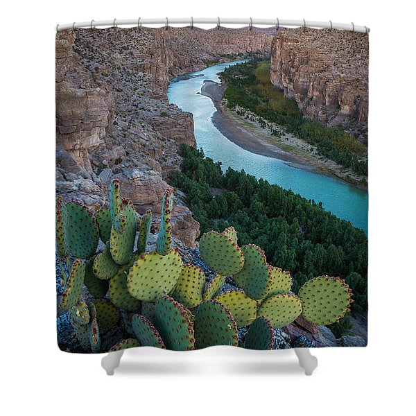 Sierra Del Carmen Shower Curtain