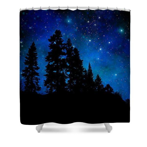 Sierra Foothills Wall Mural Shower Curtain