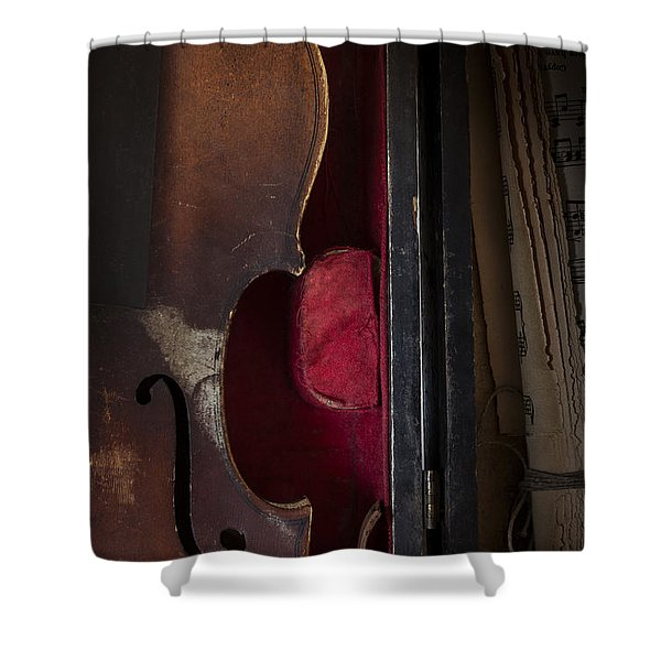 Silent Sonata Shower Curtain