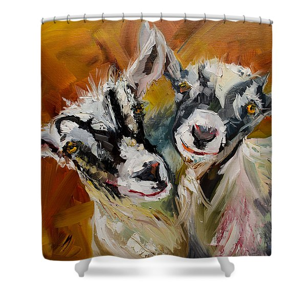 Silly Kids Shower Curtain