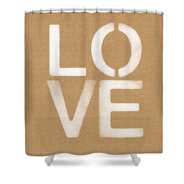 Simple Love Shower Curtain