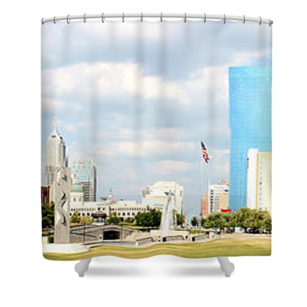 Simply Indy Shower Curtain