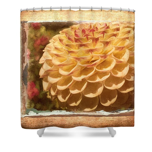 Simply Moments - Flower Art Shower Curtain
