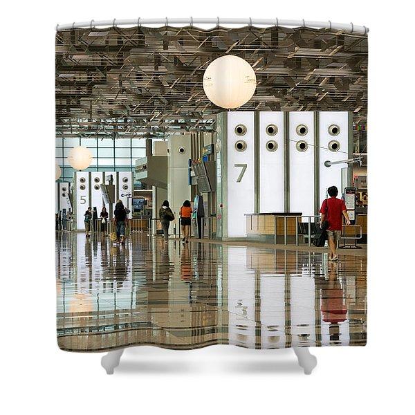 Singapore Changi Airport 02 Shower Curtain