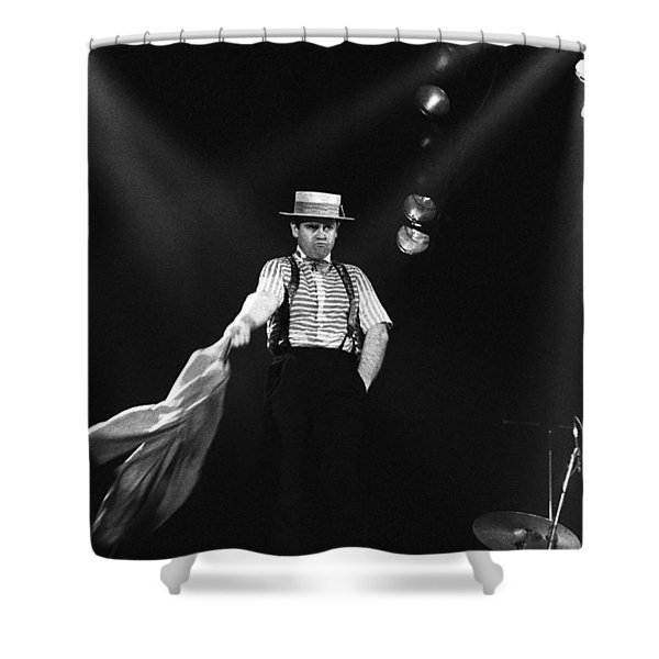 Sir Elton John Shower Curtain