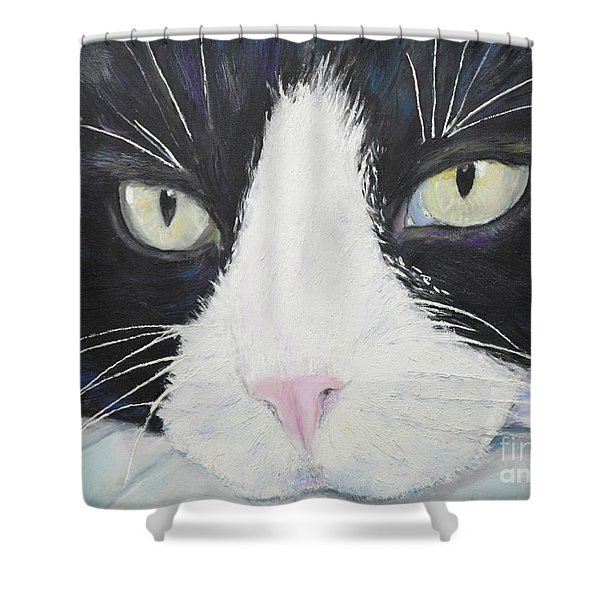 Sissi The Cat 2 Shower Curtain