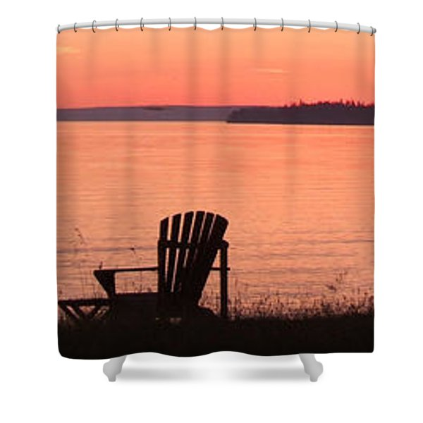 Sit For A Spell Shower Curtain