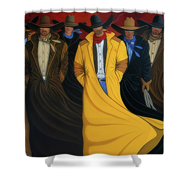 Six Pac Shower Curtain