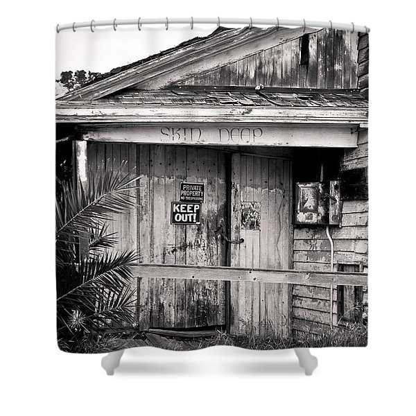 Skin Deep Shower Curtain
