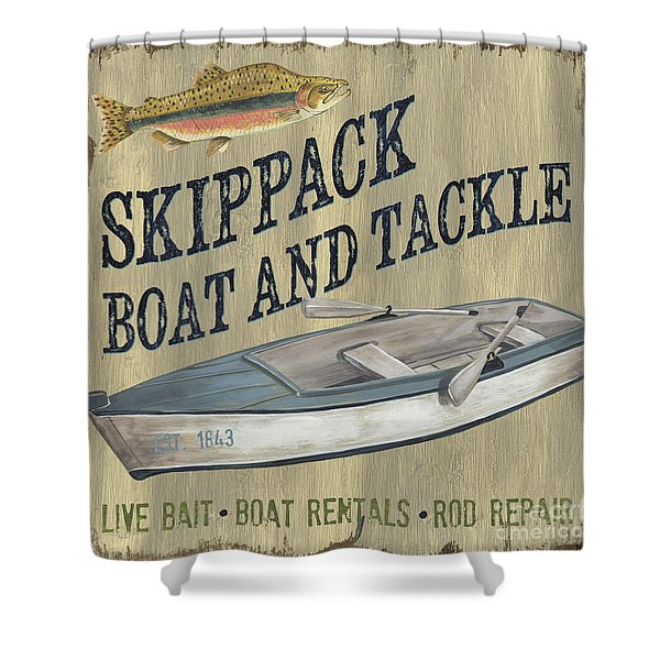 Skippack Boat And Tackle Shower Curtain