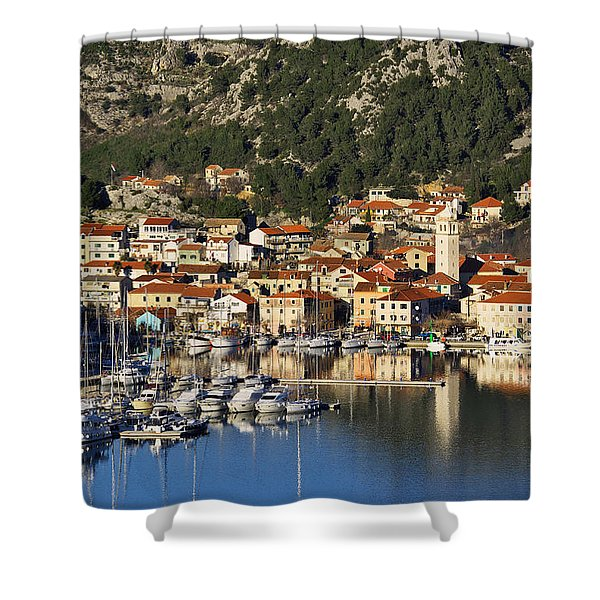 Skradin Shower Curtain