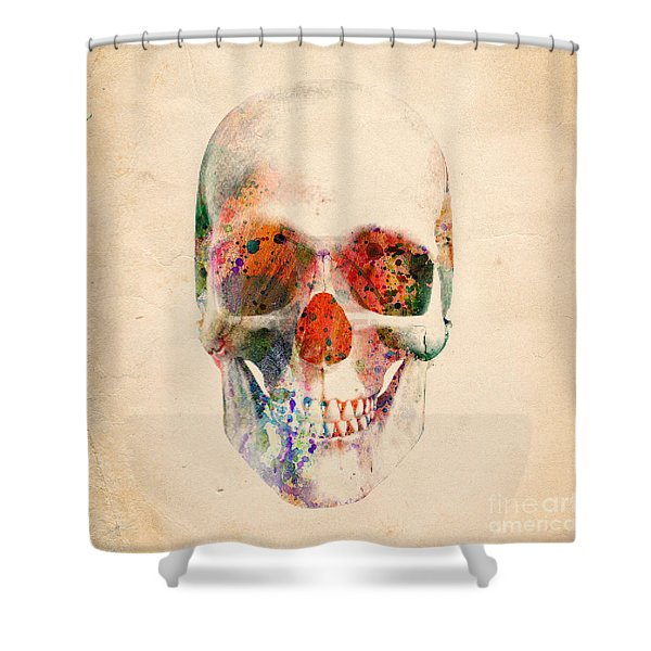 Skull 12 Shower Curtain