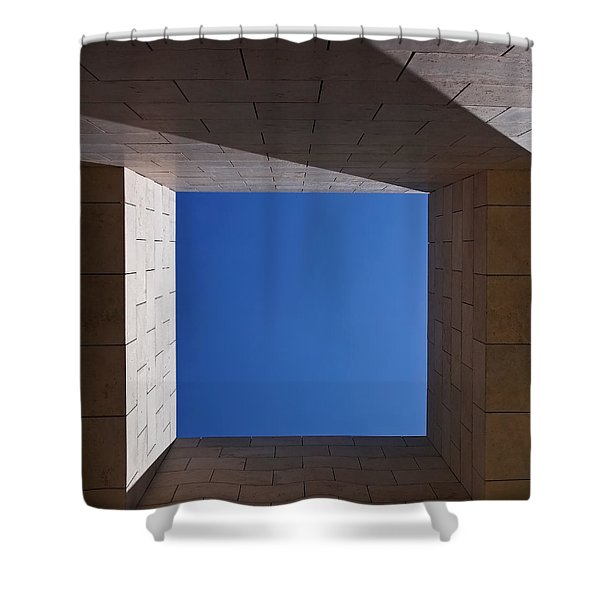 Sky Box At The Getty 2 Shower Curtain